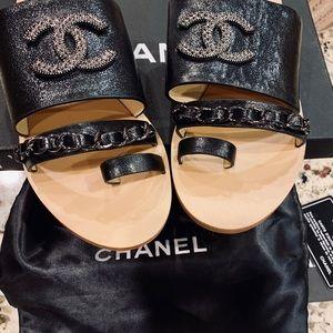 fa7afb966698 Women s Chanel Slide Sandals on Poshmark